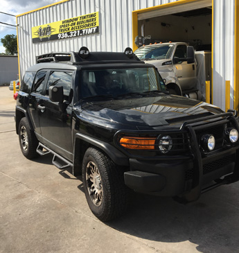 Black FJ Cruiser